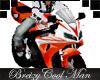 Honda CBR - Wh / Orange