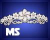 MS Wedding Tiara White