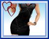 W| Sexy Black Dress