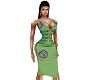 Sharon Dress Green