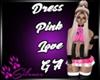 Dress Pink Love GA