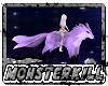 Ridable Purple Wolf