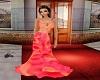 Orange Pink Gown