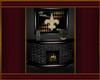 *SA Saints Fireplace