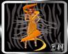 [ZN] Orange Apeel Dress