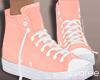 Fall Sneakers Blush