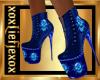 [L] Blue  Boots F