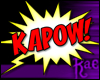 R: Comic KAPOW! Sticker