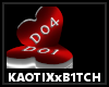 Lovers Heart Chair Der