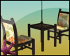 [SB] Bar Twin Chairs