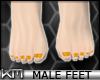+KM+ Male Feet Orange