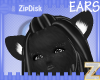 Z) Dark Kitty Ears