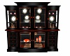 China Cabinet OrangeBlac