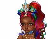 Kids Rainbow mermaid crn