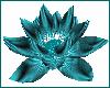 My Teal Animated Lotus