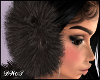 D- Fur Lux Black Muffs