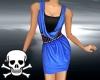 !Cowl Dress ~ Sapphire