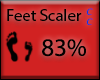 [NaiT] Feet Scaler 83%