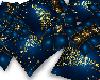 ~Z xmas blue pillow pile