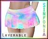 Layer. Pastel Skirt
