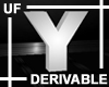 UF Derivable Letter Y