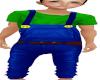 Family Luigi Overalls M