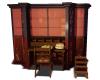 Desk-Book Shelves Mesh