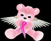 ANGEL TEDDY PINK RIBBON