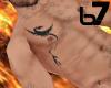 [b7] Dragons tribal ink