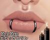 Custom Double Lip Rings