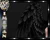 (MI) Black Angel wings