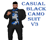CASUAL BLK CAMO SUIT V3