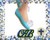 Blue fairy shoes