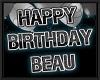 BEAU birthday balloons
