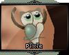|Px| Owl Cuff Teal