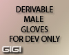 !G! Derivable gloves