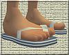 *CA* Grey Flip Flops