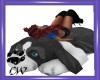 CW Dog Cushion