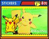 lCl Pikachu l Stickers
