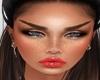 Skin orange lipstick