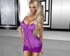 Purple Corset Dress