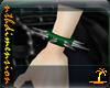 Green Spike WristB Left