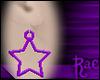 R: Purple Star Earrings