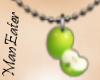 ! apple Necklace