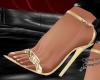 KB Gold Sandals KK