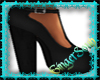 Black Chunky High Heel