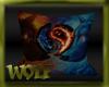 {LW}Wolf Fire/Ice Pillow