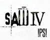 !PS! Saw IV Poster