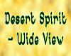 DesertSpirit -Wide Sign