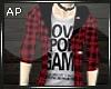 AP Red Hoody